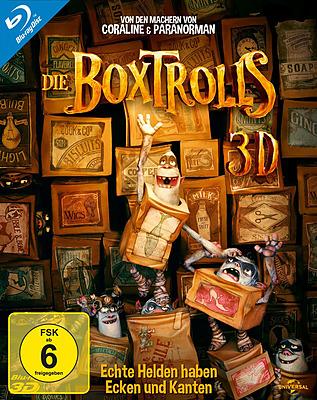 Einfach und sicher online bestellen: Die Boxtrolls 3D in Österreich kaufen.