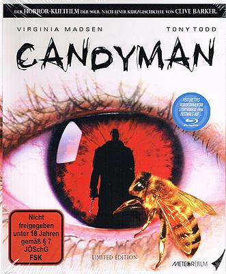 Einfach und sicher online bestellen: Candyman Limited Editon Mediabook in Österreich kaufen.