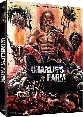 Einfach und sicher online bestellen: Charlies Farm Limited Collectors Mediabook Cover A in Österreich kaufen.