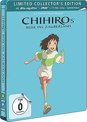 Einfach und sicher online bestellen: Chihiros Reise ins Zauberland Steelbook in Österreich kaufen.