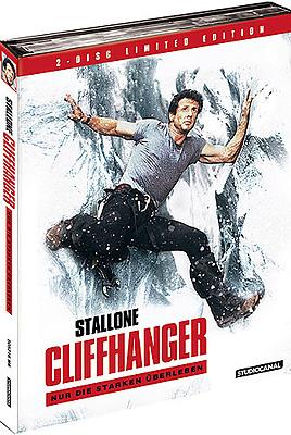 Einfach und sicher online bestellen: Cliffhanger Limited 1000 Edition Mediabook in Österreich kaufen.