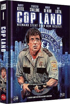 Einfach und sicher online bestellen: Cop Land Limited 666 Edition Mediabook Cover A in Österreich kaufen.