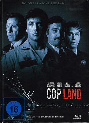 Einfach und sicher online bestellen: Cop Land Limited 333 Edition Mediabook Cover B in Österreich kaufen.