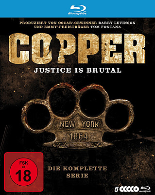 Einfach und sicher online bestellen: Copper - Justice is brutal Die komplette Serie in Österreich kaufen.