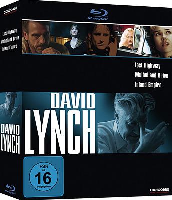 Einfach und sicher online bestellen: David Lynch Box (3 BluRays/Concorde) in Österreich kaufen.