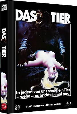 Einfach und sicher online bestellen: Das Tier - The Howling Limited Mediabook Cover B in Österreich kaufen.