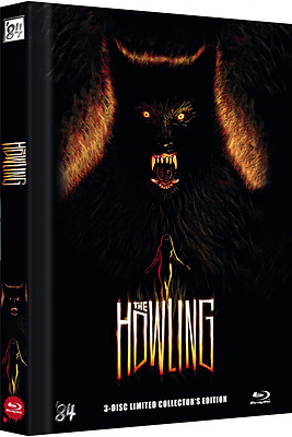 Einfach und sicher online bestellen: Das Tier - The Howling Limited Mediabook Cover C in Österreich kaufen.