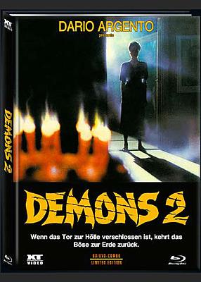 Einfach und sicher online bestellen: Demons 2 - Dämonen 1 Limited 666 Mediabook Cover A in Österreich kaufen.
