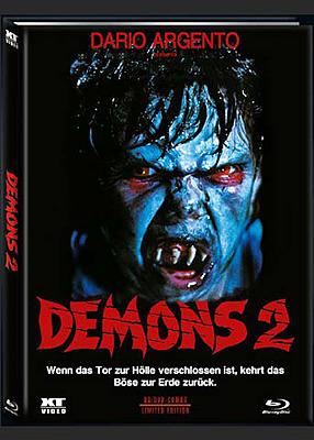 Einfach und sicher online bestellen: Demons 2 - Dämonen 1 Limited 1000 Mediabook B in Österreich kaufen.