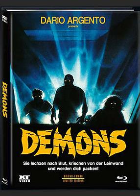 Einfach und sicher online bestellen: Demons - Dämonen 2 Limited 666 Mediabook Cover A in Österreich kaufen.