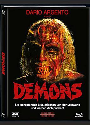 Einfach und sicher online bestellen: Demons - Dämonen 2 Limited 1000 Mediabook Cover B in Österreich kaufen.