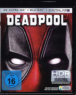 Einfach und sicher online bestellen: Deadpool 4K Ultra HD in Österreich kaufen.