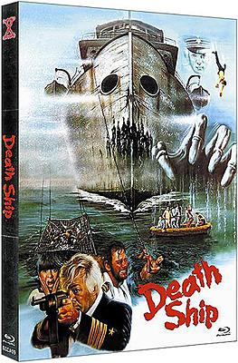 Einfach und sicher online bestellen: Death Ship Limited 666 Edition Mediabook Cover B in Österreich kaufen.
