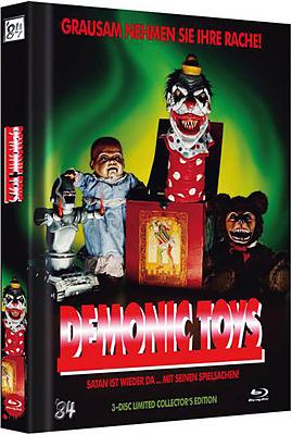 Einfach und sicher online bestellen: Demonic Toys Limited 500 Editon Mediabook Cover A in Österreich kaufen.