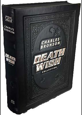 Einfach und sicher online bestellen: Death Wish 1-5 Leatherbook + Mediabook in Österreich kaufen.