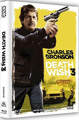 Einfach und sicher online bestellen: Death Wish 3 Limited 777 Edition Mediabook Cover B in Österreich kaufen.