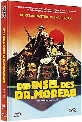 Einfach und sicher online bestellen: Die Insel der Dr. Moreau Limited Mediabook Cover A in Österreich kaufen.