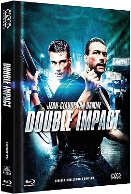 Einfach und sicher online bestellen: Double Impact - Geballte Ladung Mediabook Cover B in Österreich kaufen.