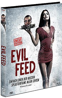Einfach und sicher online bestellen: Evil Feed Limited 1000 Edition Mediabook Cover A in Österreich kaufen.