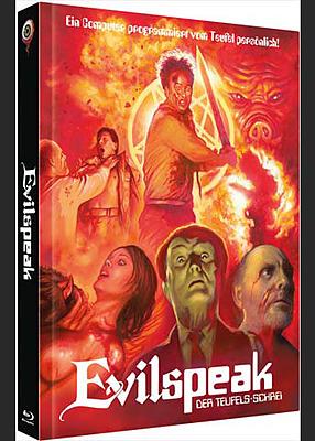 Einfach und sicher online bestellen: Evilspeak limited 222 Mediabook Cover B in Österreich kaufen.