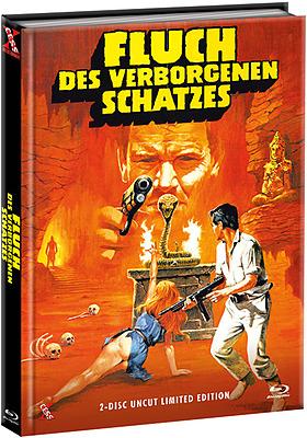 Einfach und sicher online bestellen: Fluch des verborgenen Schatzes Mediabook Cover B in Österreich kaufen.