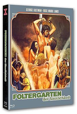Einfach und sicher online bestellen: Foltergarten der Sinnlichkeit Limited 444 Cover A in Österreich kaufen.