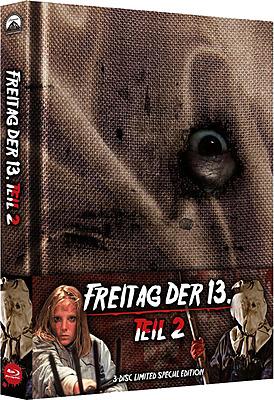 Einfach und sicher online bestellen: Freitag der 13. Teil 2 Limited Edition Mediabook in Österreich kaufen.