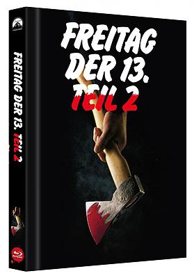 Einfach und sicher online bestellen: Freitag der 13. Teil 2 Limited Edition Mediabook B in Österreich kaufen.