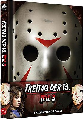 Einfach und sicher online bestellen: Freitag der 13. Teil 3 Limited Edition Mediabook in Österreich kaufen.