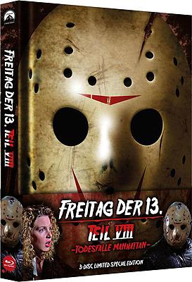Einfach und sicher online bestellen: Freitag der 13. Teil 8 Limited Edition Mediabook in Österreich kaufen.