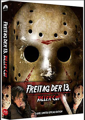 Einfach und sicher online bestellen: Freitag der 13. Killer Cut Limited Mediabook in Österreich kaufen.