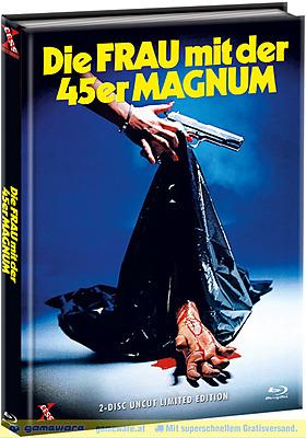Einfach und sicher online bestellen: Die Frau mit der 45er Magnum Limited Mediabook B in Österreich kaufen.