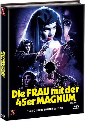 Einfach und sicher online bestellen: Die Frau mit der 45er Magnum Limited Mediabook C in Österreich kaufen.