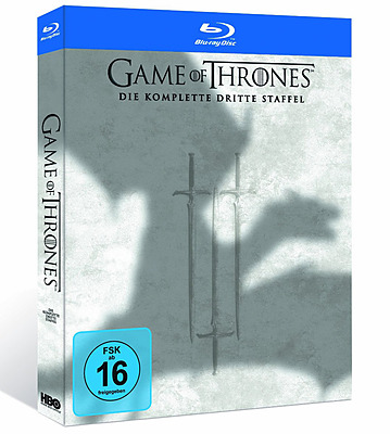 Einfach und sicher online bestellen: Game of Thrones: Die komplette Dritte Staffel in Österreich kaufen.