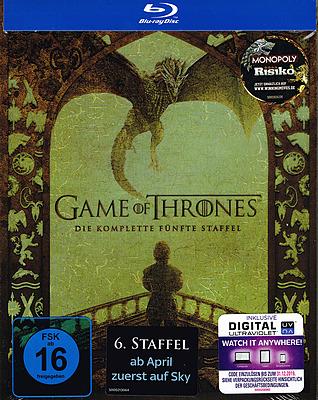 Einfach und sicher online bestellen: Game of Thrones: Die komplette fünfte Staffel in Österreich kaufen.