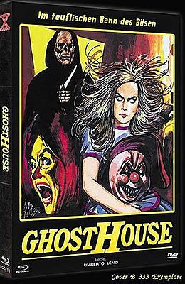 Einfach und sicher online bestellen: Ghosthouse Limited 333 Editon Mediabook Cover B in Österreich kaufen.