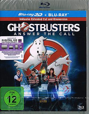 Einfach und sicher online bestellen: Ghostbusters (2016) 3D Extended in Österreich kaufen.
