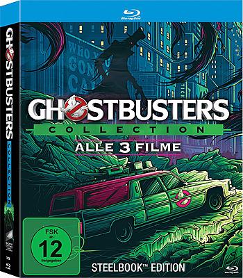 Einfach und sicher online bestellen: Ghostbusters Limited Steelbook Collection in Österreich kaufen.
