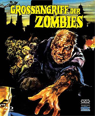 Einfach und sicher online bestellen: Grossangriff der Zombies uncut Cover A Mediabook in Österreich kaufen.