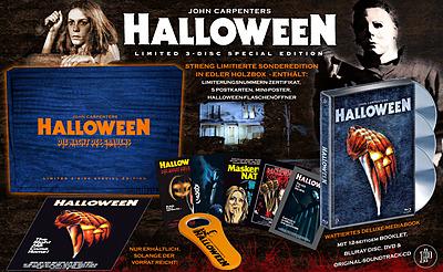 Einfach und sicher online bestellen: Halloween - Die Nacht des Grauens Limited Edition in Österreich kaufen.