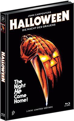 Einfach und sicher online bestellen: Halloween 1 Limited Edition Mediabook Cover A in Österreich kaufen.