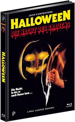 Einfach und sicher online bestellen: Halloween 1 Limited Edition Mediabook Cover B in Österreich kaufen.