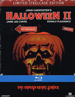 Einfach und sicher online bestellen: Halloween 2 Limited 1500 Steelcase Edition in Österreich kaufen.