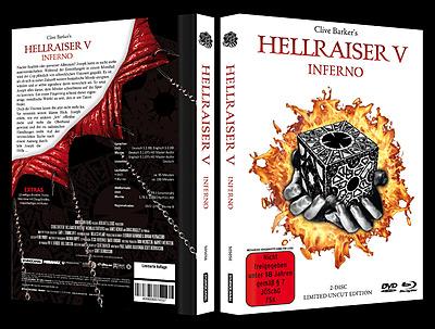 Einfach und sicher online bestellen: Hellraiser V - Inferno White Edition Mediabook in Österreich kaufen.