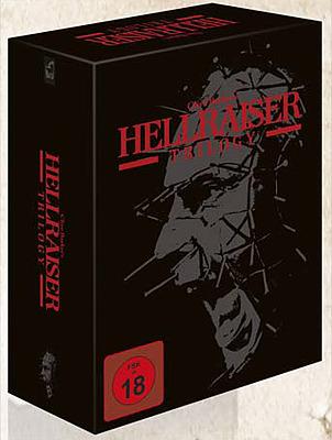Einfach und sicher online bestellen: Hellraiser 1-3 Trilogy Uncut in Österreich kaufen.