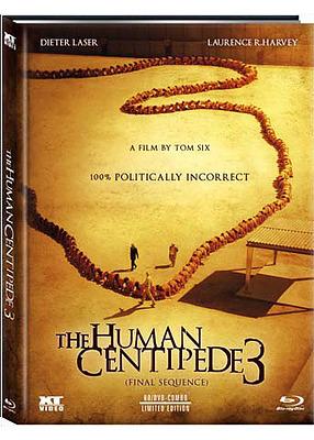 Einfach und sicher online bestellen: Human Centipede 3 Limited 1000 Mediabook Cover A in Österreich kaufen.