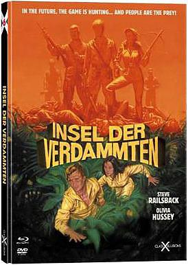 Einfach und sicher online bestellen: Insel der Verdammten Limited Mediabook Cover C in Österreich kaufen.