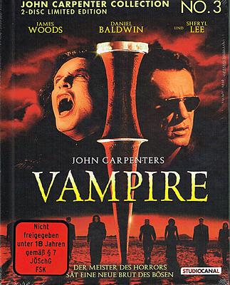 Einfach und sicher online bestellen: John Carpenters Vampire Cover B Mediabook in Österreich kaufen.