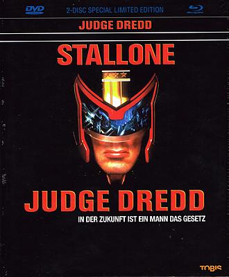 Einfach und sicher online bestellen: Judge Dredd Limited 2-Disc Mediabook in Österreich kaufen.
