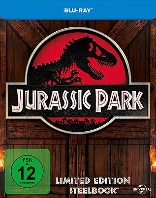 Einfach und sicher online bestellen: Jurassic Park Limited Edition Steelbook in Österreich kaufen.